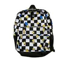 Vans X The Simpsons Old Skool III Backpack White Black ( VN0A3I6RZZZ ) NEW!