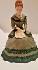 Little Women ~ Meg ~ Tasha Tudor Handpainted Fine Franklin Porcelain Figurine