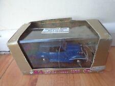 BRUMM 1/43 CLASSIC 1937-1939 FIAT 508C CABRIOLET 1100 HP32 BLUE DIECAST CAR R84