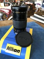 Kiron 28-85mm f2.8-3.8 Zoom Lens With 67 Mm Skylight Hoya Film Filter Used Nice