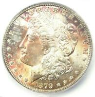1879-P (1879) Morgan Silver Dollar $1 - ICG MS65 - Rare in MS65 - $550 Value!
