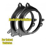 Car Door Stereo Speaker Mounting Adapter Plate Brackets Aftermarket Mounts NEW
