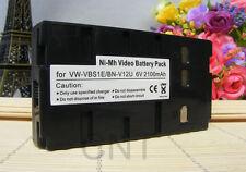Battery PACK BN-V12U for JVC GR-AX GR-AX280E GR-AX280 GR-FXM42EK Camcorder