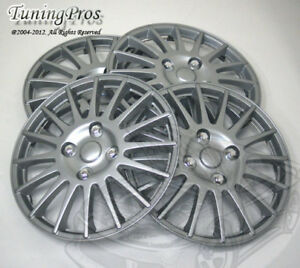 """4pcs Wheel Cover Rim Skin Covers 15"""" Inch, Style 611 15 Inches Hubcap Hub Caps"""