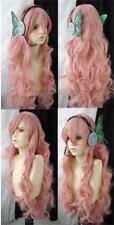 Vocaloid Luka Megurine Magnet Dusky Pink Cosplay Wig + hairnet
