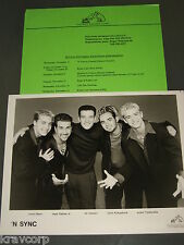 N Sync—1998 Press Kit—Photo—Justin Timberlake