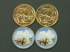 2010 Yellowstone Parks Quarters P and D Pairs
