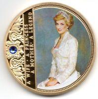 Diana Gold Coin Princess Mother Prince Harry Royal Wedding Meghan Markle Windsor