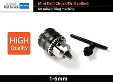 Mini Drill Chuck collect 1-6mm for DIY Drilling Lathe Milling Machine D001