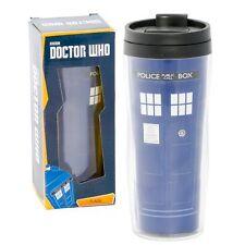 Doctor Who Travel Coffee Mug Tardis Insulated Tumbler Flask BBC Underground Toys