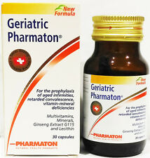 Geriatric Pharmaton 30 Capsules Prophylaxis of aged infirmities Ginseng G115 New