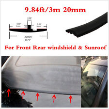 9.84ft Car Accessories Weather Strips Rubber Seal Windshield Sunroof Edge Decor