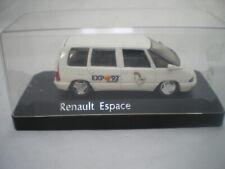 Renault Espace 2 Expo Séville '92 1/43 Solido 9115 promotion Neuf Boite plastic