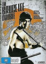 B28 NEW The Bruce Lee Double - Real Bruce Lee / Death By Misadventure (DVD 2006)
