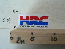 STICKER,DECAL HRC HONDA RACING CORPORATION MOTO GP SUPERBIKES ENDURANCE