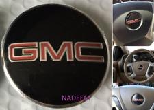 ONE GMC Steering Wheel Emblem logo badge sign SILVERADO GMC Sierra Acadia