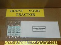 Kubota Hydraulic Pressure BOOST & Adjustment shims for all BX,B,L Tractors