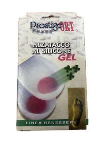 Alzatacco - Talloniera silicone Gel - spina calcaneare - sport e confort tallone