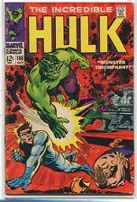 Incredible Hulk 108 Vg+ Mandarin (1962 series) Marvel Comics *Cbx1U