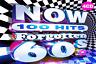 NOW 100 Hits Forgotten 60s 4 CD ALBUM SET NEW (25TH MAR)