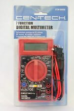 CEN-TECH 7 Function Digital Multi-Tester Multimeter Brand New US SELLER