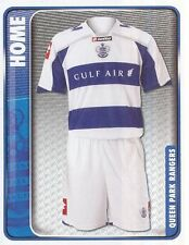 260 HOME KIT ENGLAND QUEENS PARK RANGERS STICKER FL CHAMPIONSHIP 2010 PANINI