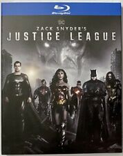 Zack Snyder's Justice League Blu-ray Slipcover Brand New Free~Shipping!