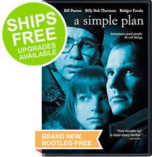 A Simple Plan (DVD, 2017) NEW, Sealed, Bill Paxton, Billy Bob Thornton, Fonda