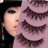 Makeup Handmade Natural Thick False Eyelashes Long Eye Lashes Extension
