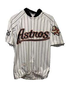 VOmax Houston Astros MLB Cycling Jersey Men's Size Medium M White