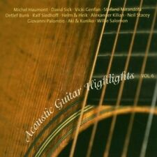ACOUSTIC GUITAR HIGHLIGHTS VOL.6  CD NEW+
