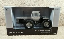 New ERTL 1:32 Scale Diecast White 4-175 Tractor With Singles #16254 Made In USA