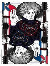 KING BUZZO Houston, TX 2014 silkscreened poster by Gumball melvins