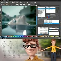Professional Digital photography photographic photo software editing suite