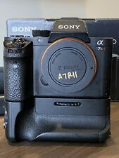 Sony A7R II Mirrorless Digital Camera With Powerextra Battery Grip & 4 Batteries