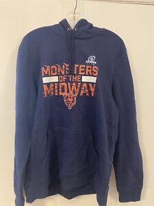 NFL Monsters Of The Midway Fanatics Men's Sweatshirt Size Large