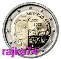 NEU - Vatikan - 2 Euro 2020 - 500. Todestag von Raffaello Sanzio  !! VVK !!
