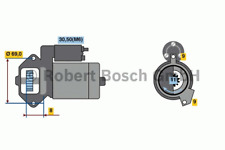 Starter - Bosch 0 986 022 020 (inkl. 119,00 € Pfand)