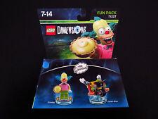 Lego Dimensions Fun Pack 71227 Krusty Clown Simpsons Bike