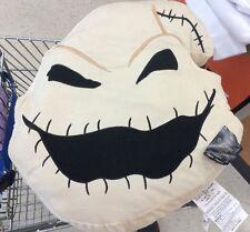 "OOGIE BOOGIE 19""x18"" BEIGE/TAN Decor Pillow Halloween Nightmare Before Christmas"
