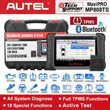 Autel Professional Tpms Functions Tool Mp808ts Maxisys Pro Diagnostic Scanpad