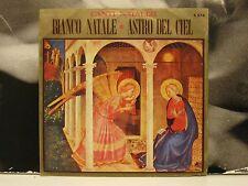"""BIANCO NATALE / ASTRO DEL CIEL 45 GIRI 7"""" VG+/EX 1971 CORO DI MARIO MELLIER"""