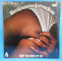 MOST REQUESTED RHYTHM BAND GOT TO GIVE IT UP LP 1978 SOUL/FUNK SHRINK VG++VG+!!