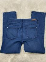 Anthropologie Pilcro and the Letterpress Blue High-Rise Bootcut Jeans Size 27