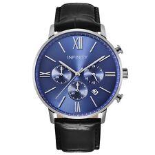 Infinity SP 05 Blue & Black Men's Classic Chronograph Watch - Blue Luxury Watch