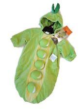 Peapod pea pod Infant Halloween Costume Bunting Sack Hood Baby size 0 6 months