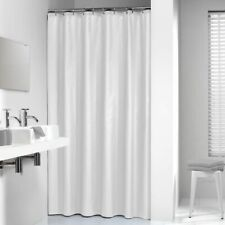 Sealskin Shower Curtain Madeira 180 cm White with Hooks Bathroom 238501310
