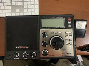 C.Crane CC Radio-SW AM/FM SW Portable Travel Radio Twin Coil Ferrite