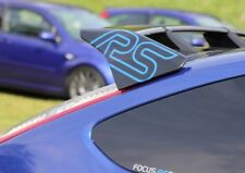 FOCUS RS MK2 SPOILER STICKERS X2 RECARO TURBO UK MADE multiple colour choice