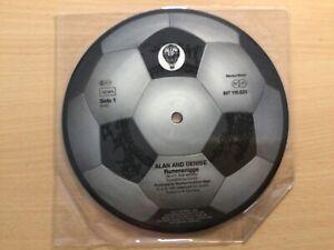"7"" Picture Disc VINYL Alan & Denise Rummenigge Fußball Football Germany 1983"
